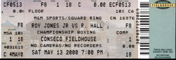 JONES, JR., ROY-RICHARD HALL FULL TICKET (2000)