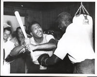 ROBINSON, SUGAR RAY & JACKIE ROBINSON ORIGINAL ANTIQUE PHOTO