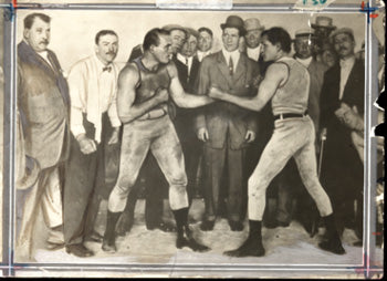 JEFFRIES, JAMES-JOE CHOYNSKI ORIGINAL ANTIQUE PHOTO