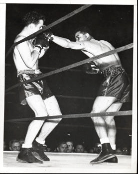 LOUIS, JOE-BILLY CONN I WIRE PHOTO (1941)