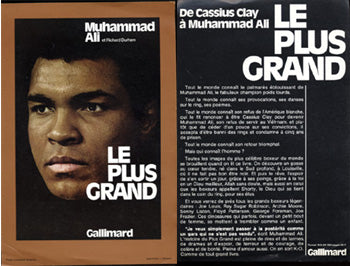 ALI, MUHAMMAD FLYER FOR MOVIE THE GREATEST