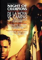 DE LA HOYA, OSCAR-YORI BOY CAMPAS OFFICIAL PROGRAM (2003)