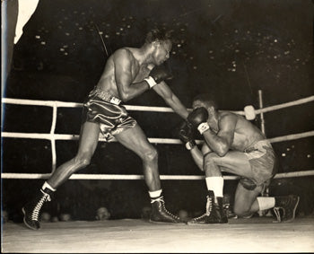 ROBINSON, SUGAR RAY-RANDY TURPIN I WIRE PHOTO (1951)