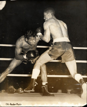ROBINSON, SUGAR RAY-RANDY TURPIN I ORIGINAL WIRE PHOTO (1951)