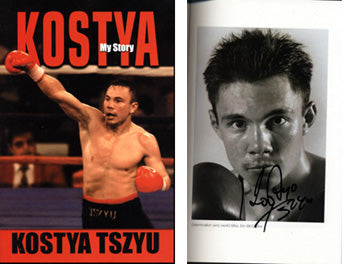 KOSTYA: MY STORY SIGNED BOOK (2002-SIGNED BY KOSTYA TSZYU)