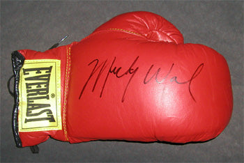 WARD, MICKEY SIGNED GLOVE