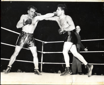 LAMOTTA, JAKE-ANTON RAADIK ORIGINAL WIRE PHOTO (1946)