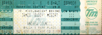 MCGIRT, BUDDY-ANDREW COUNCIL FULL TICKET (1995)