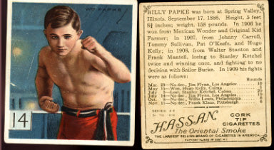 PAPKE, BILLY T218 CHAMPIONS CARD