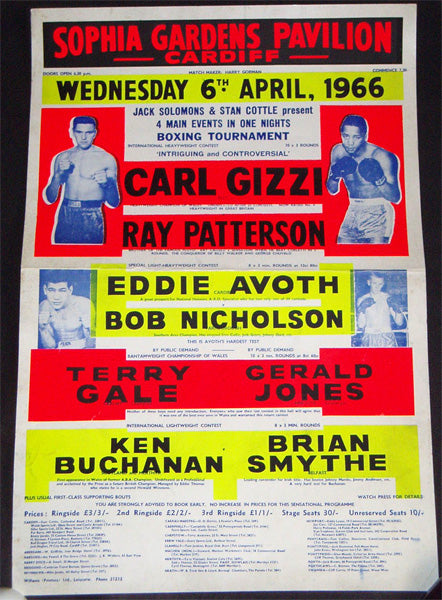 BUCHANAN, KEN-BRIAN SMYTHE ON SITE POSTER (1966)