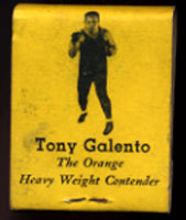 GALENTO, TONY BAR & GRILL MATCHBOOK