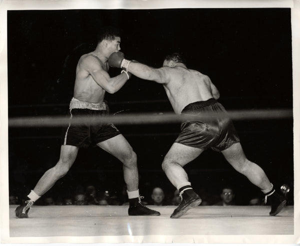 LOUIS, JOE-TONY GALENTO WIRE PHOTO (1939)