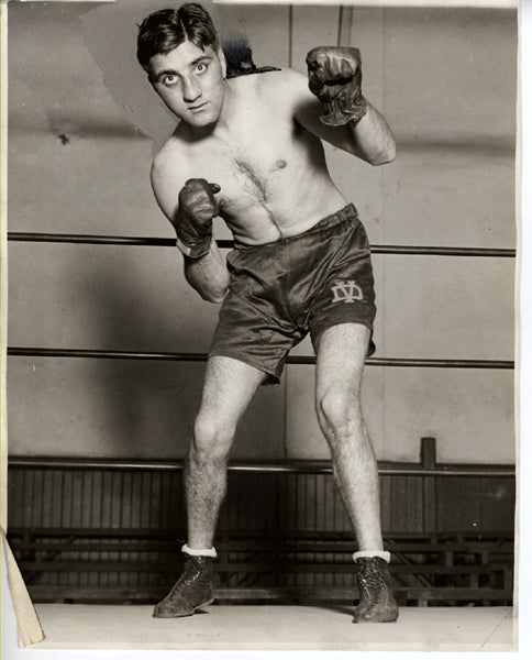 DUNDEE, VINCE ORIGINAL WIRE PHOTO (1928)