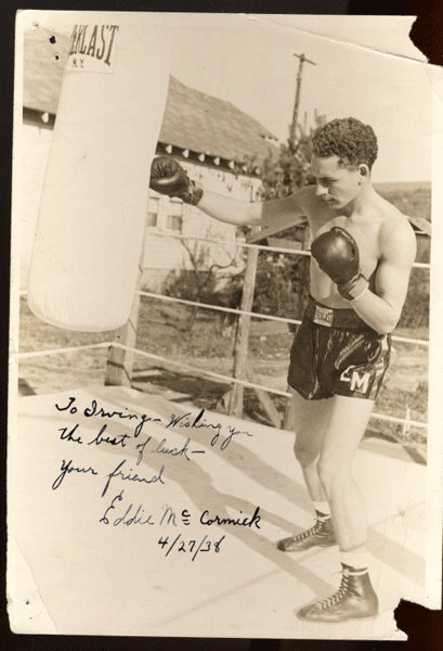 MCCORMICK, EDDIE SIGNED PHOTO