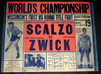 SCALZO, PETEY-PHIL ZWICK ON SITE POSTER (1941)