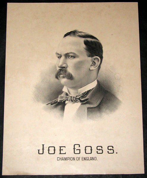 GOSS, JOE LITHOGRAPHIC POSTER