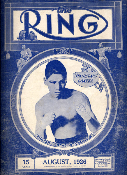 RING MAGAZINE AUGUST 1926