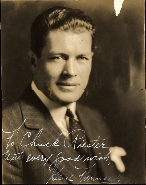 TUNNEY, GENE SIGNED PHOTO (1930)