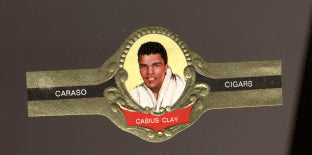 CLAY, CASSIUS CIGAR BAND (1960'S)