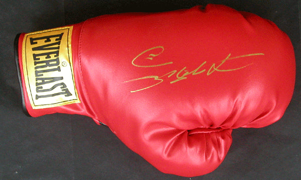 LEONARD, SUGAR RAY SIGNED BOXING GLOVE