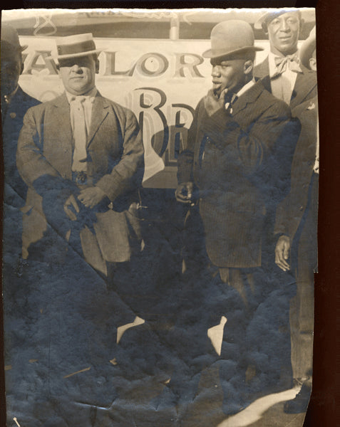 LANGFORD & JOE WOODMAN & DENVER ED MARTIN ANTIQUE PHOTO