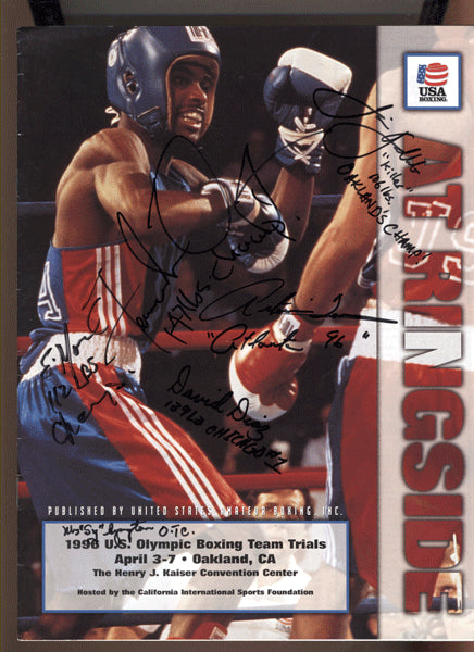 MAYWEATHER, JR., FLOYD OLYMPIC TRIALS PROGRAM (1996)