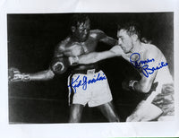 BASILIO, CARMEN & KID GAVILAN SIGNED PHOTO
