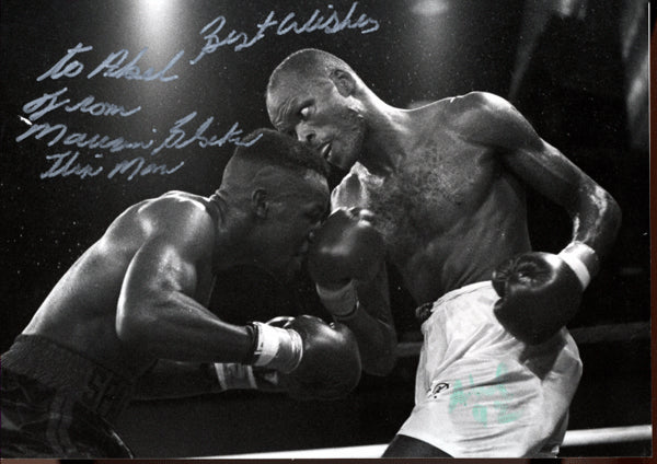 BLOCKER, MAURICE SIGNED PHOTO