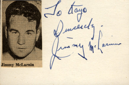 MCLARNIN, JIMMY INK SIGNATURE