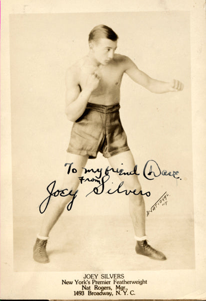 SILVERS, JOEY SIGNED PHOTO