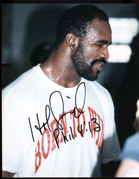 HOLYFIELD, EVANDER SIGNED PHOTO