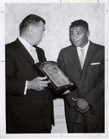 DEMPSEY, JACK & FLOYD PATTERSON WIRE PHOTO