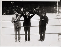 DEMPSEY, JACK & GENE TUNNEY WIRE PHOTO (1934)