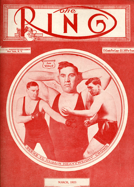 RING MAGAZINE MARCH 1923