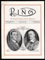 RING MAGAZINE 1ST ISSUE REPRODUCTION