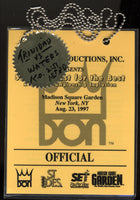 TRINIDAD, FELIX-TROY WATERS CREDENTIAL (1997-USED BY MERCANTE)
