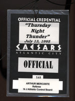 Gatti,Arturo Official Credential Against Francis 1995 (Used by Arthur Mercante)