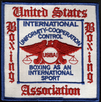 UNITED STATES BOXING ASSOCIATION PATCH (MERCANTE COLLECTION)
