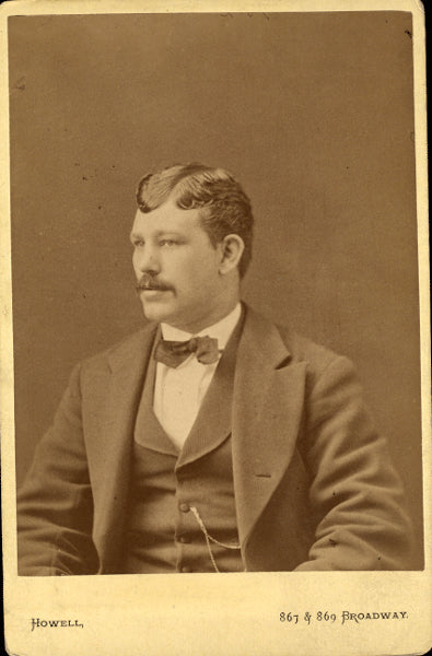 CHAMBERS, ARTHUR CABINET CARD PHOTO