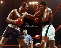 Ali,Muhammad Signed Photo In Action Against Norton