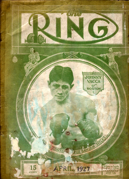 Ring Magazine April 1927