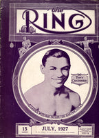 Ring Magazine July 1927