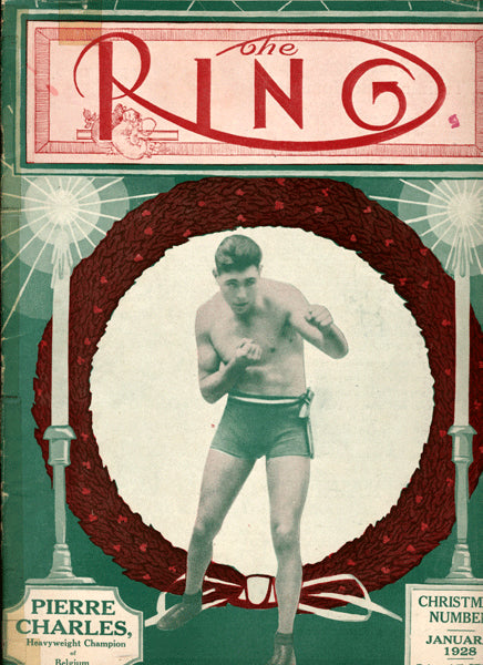 Ring Magazine January 1928