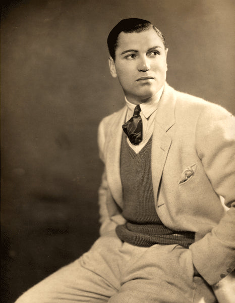 DEMPSEY, JACK LARGE FORMAT STUDIO PHOTO (1925)
