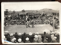 JOHNSON, JACK-JESS WILLARD ORIGINAL ANTIQUE PHOTO (1915)