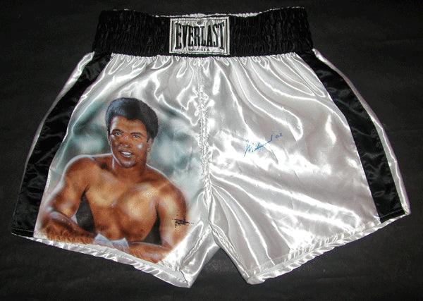 ALI, MUHAMMAD SIGNED HAND PAINTED TRUNKS