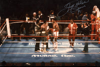 HOLMES, LARRY SIGNED ACTION PHOTO