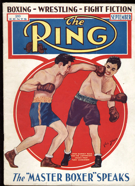 RING MAGAZINE SEPTEMBER 1933)