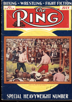 RING MAGAZINE JULY 1933