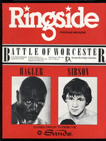 HAGLER, MARVIN-TONY SIBSON CLOSED CIRCUIT PROGRAM (1983)